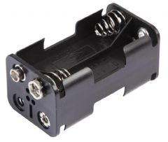 PRO POWER PP002044  Battery Holder, 4X Aa, Snap